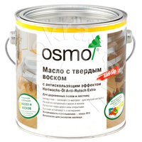Масло с твердым воском OSMO с антискользящим эффектом Hartwachs-Öl Anti-Rutsch
